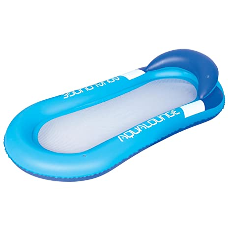 Bestway Aqua Lounge Filet Blu Matelas Gonflable Plage Piscine