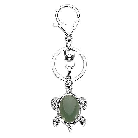 Amazon.com: Jovivi - Llavero de piedras de cristal natural ...