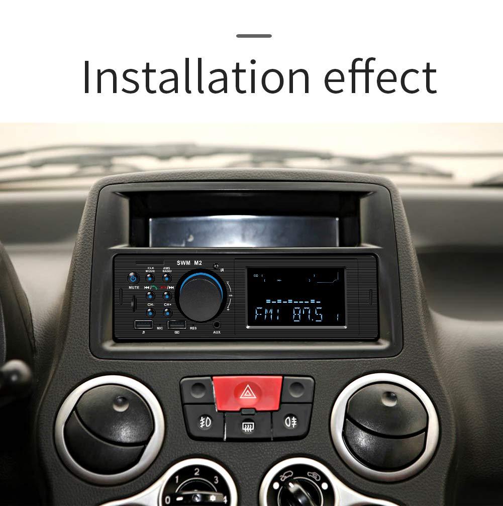 Amazon com: Yiji Vintage Classic Style Bluetooth Car Radio