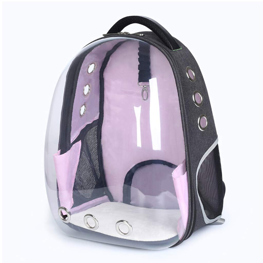 ForHe Portable Travel Pet Carrier Backpack, Transparent Space Capsule Bubble Design,Waterproof Backpack for Cat and Small Dog with 4 Colors Optional by ForHe