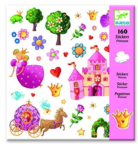 Djeco Princess Marguerite Stickers (160 pc)