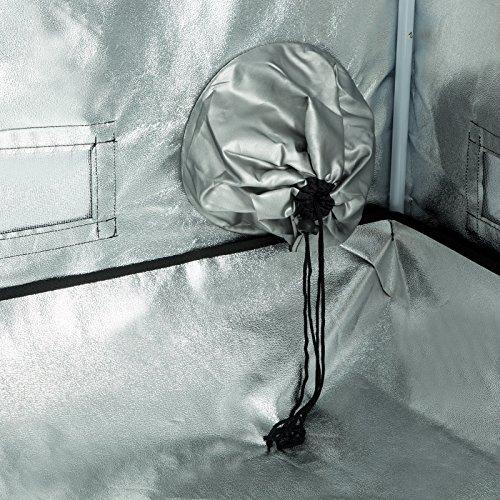 61CdWlDi9RL - iPyarmid 600D Indoor Grow Tent Room Reflective Mylar Hydroponic Non Toxic Hut