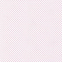 Higgs & Higgs - Tiny Tots - Little Dots - White & Pale Pink - Cotton Fabric Children Nursery quilt