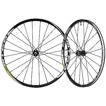 SHIMANO Rueda de Bicicleta WH de MT68 26 Eje Delantero 15 mm ...