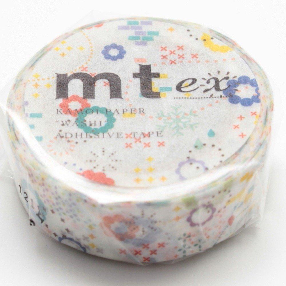 MT Japanese Washi Masking Tape Colorful Pop (MTEX1P74)