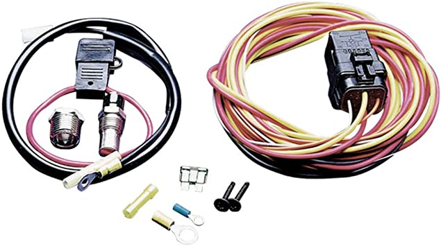 Amazon.com: Spal 195FH Cooling Fan Harness with Relay: Automotive   Spal Wiring Harness      Amazon.com
