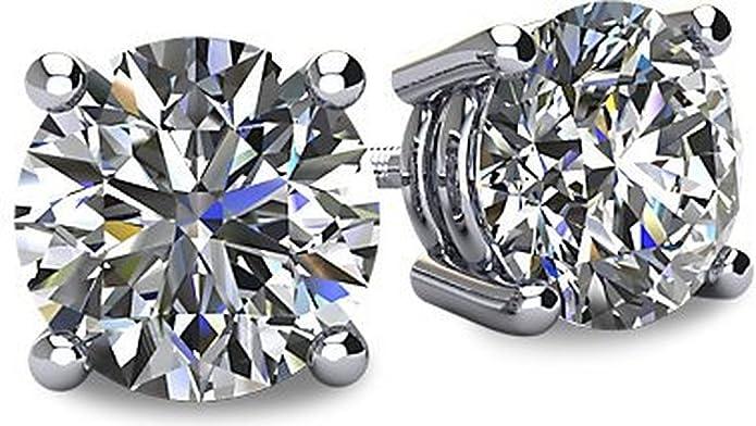 Octagon Polki Diamond Silver Stud Earring .925 Gold Polish Sterling Silver Diamond Earring Genuine handmade pave diamond Earring.