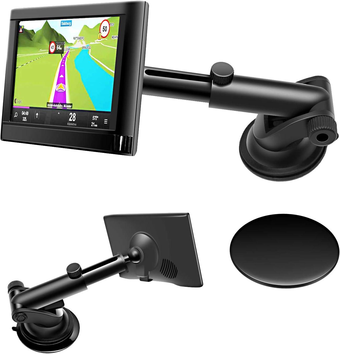 1 PC 360-Grad-Drehung Navigation Kugel geformt Auto Kompass mit Saugnapf  WH SP
