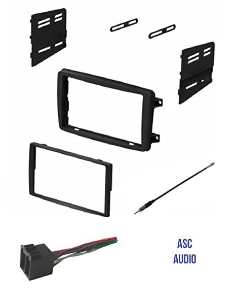 amazon com asc audio car stereo radio install dash kit wire rh amazon com