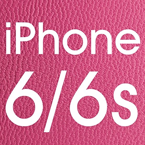 iPhone 6S leather Case, LBT Genuine Leather Stand Case Magnetic Smart Cover with Windows View for Apple iPhone 6/6sCompatible with IOS8 - 100% Handmade Folio Case Flip Phone Holder Protective Cover in Rose Lbt-IP6-12L33