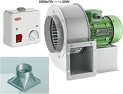 REGOLATORE di velocità per ventilatore ventola ventola del tubo fino a 600 W con cassetta elettrica