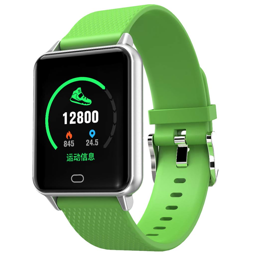 Smart Watch,Sport IP68 Calorie Waterproof Watch,Fitness Tracker with Heart Rate Blood Pressure,Blood Oxygen,Sleep Monitor,Wear Wristband for Men Women Kids,Compatible for iOS/Android