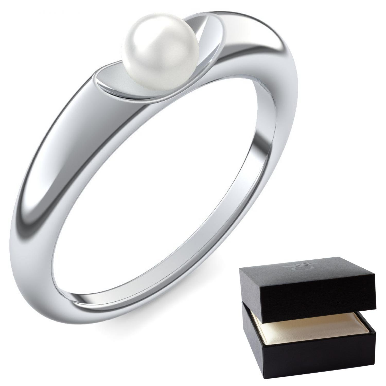 Silber ring  Perlenring Silber 925 Silberring Perle Perlen **sehr hochwertige 4 ...