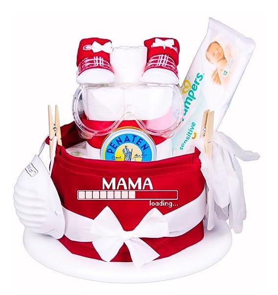 Trend Mama Windeltorte Mama Loading Das Geschenk Fur Den Werdende
