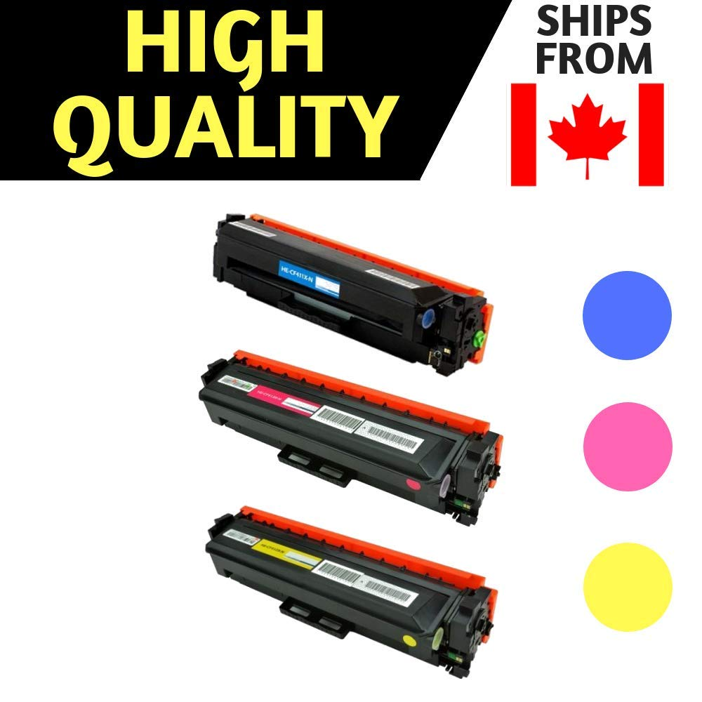 Best Compatible Toner for HP 410X CF410X(High Yield of CF410A) Black Toner Cartridge for Color Laserjet Pro M452dn, M452dw, M452nw, MFP M377dw, MFP M477fdn, MFP M477fdw, MFP M477fnw (Black) Best Ink & Toner