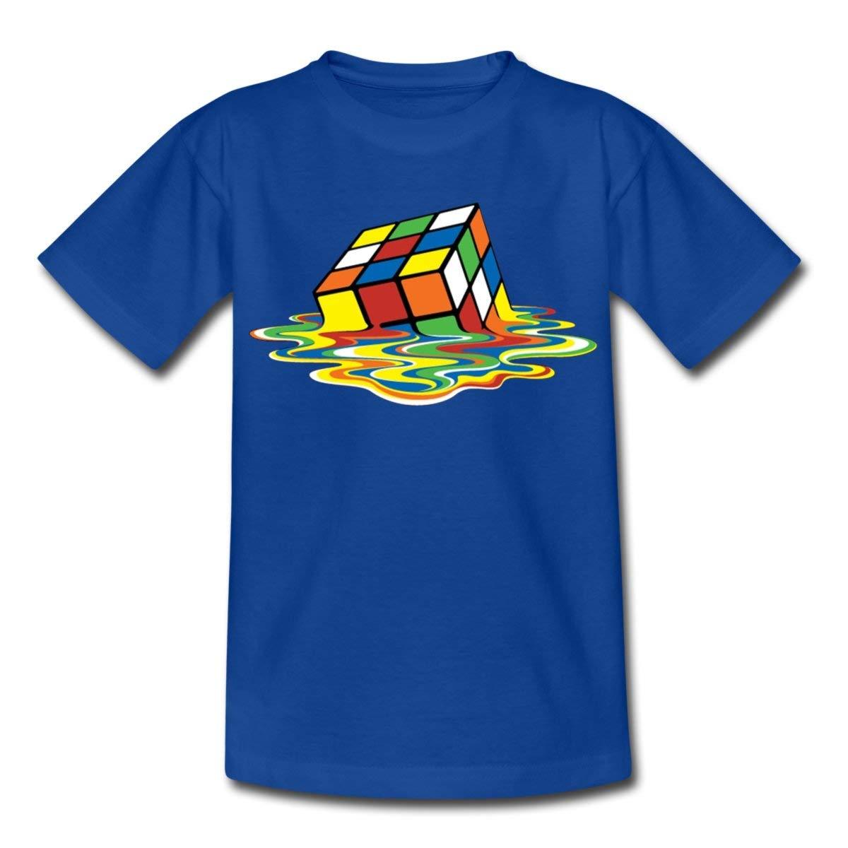 63123c30b395e Spreadshirt Rubik s Cube en Train De Fondre T-Shirt Ado  Amazon.fr   Vêtements et accessoires