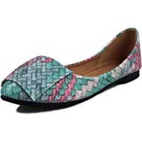 OUTDOOWALS Womens Comfort Walking Flat Width Slip Resistant Work Shoes for Women