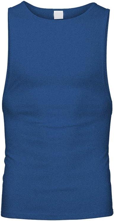 Berimaterry Camisetas Hombre Verano Camisa Color Sólido Casuales Deportivas Músculo Gimnasios Polos Slim Remera Deportivo Gym Camisetas Sin Manga Tank Tops de Tirantes Suelto Chaleco Fitness: Amazon.es: Ropa y accesorios