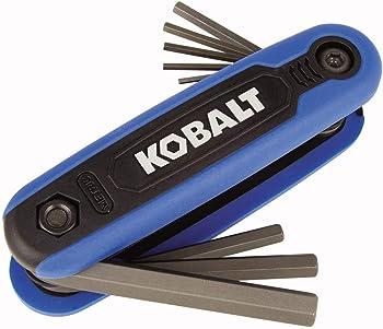 Kobalt 8-Key Metric Folding Hex Key Set
