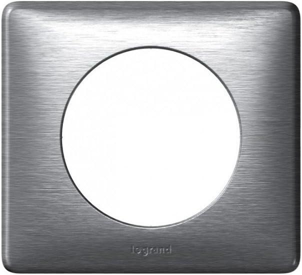 Legrand 200259 C/éliane Lot de 4 Plaques Aluminium
