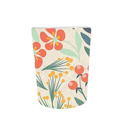 YaYa Cafe™ Floral Flower Exquisite Charming Decorative Pot Planter Indoor (Only Pot)