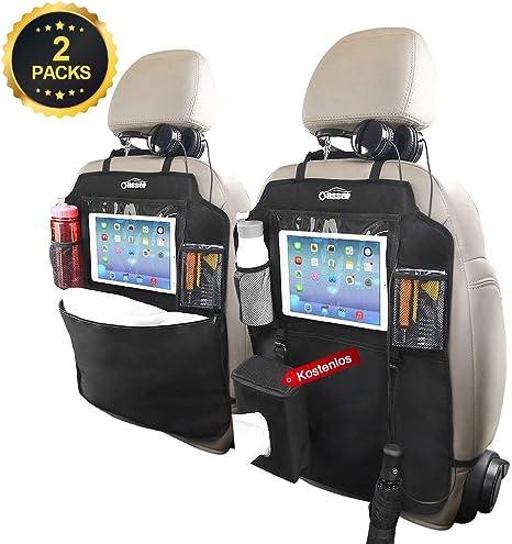 1pc Rücksitztasche Auto Rücklehnenschutz Organizer Autositztasche Halter
