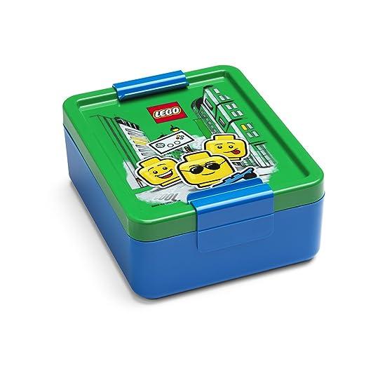 Azul//Rojo LEGO Vaso con Pajita Iconic Cl/ásico Talla /única