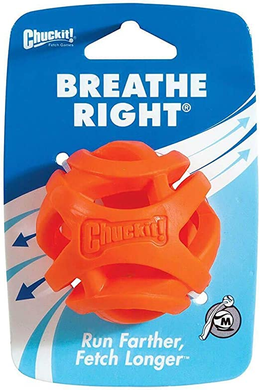Chuckit! CU31932 Pelota Breathe Right Fetch Ball Medium, Bola De ...