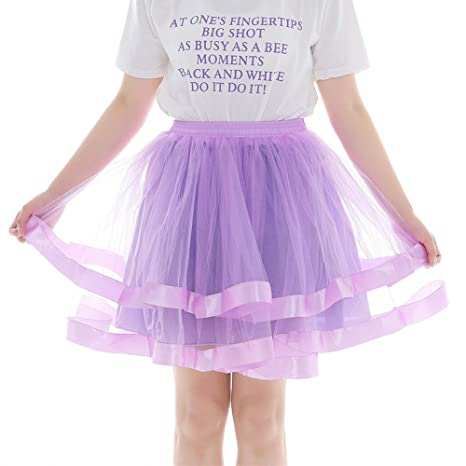 Sunday - Falda de tul corta para mujer, falda de ballet, falda de ...