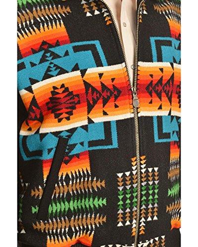 Pendleton Men's Big Horn Jacket, Black Chief Joseph, Large
