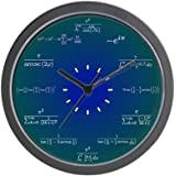 "CafePress - Math Clock - Unique Decorative 10"" Wall Clock"