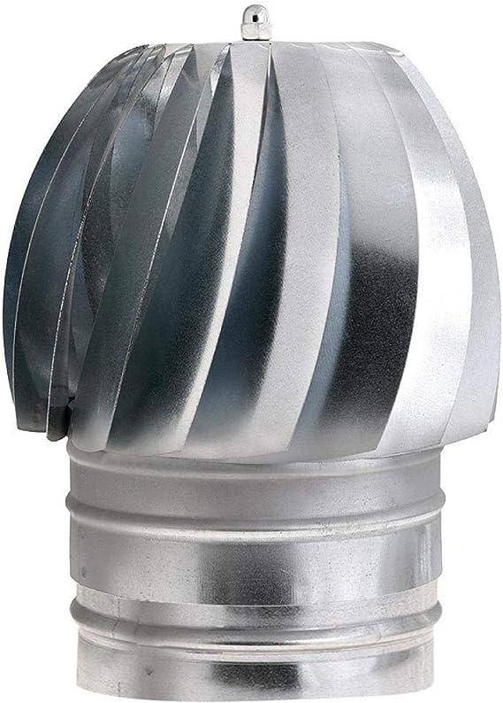 WOLFPACK 22011132 Sombrero Extractor Galvanizado Para Estufa 200mm ...
