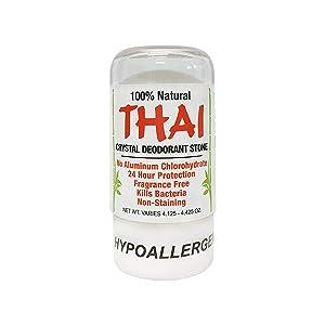 Deodorant Stones of America: Thai Crystal Deodorant, 4.25 oz (Pack of 2)