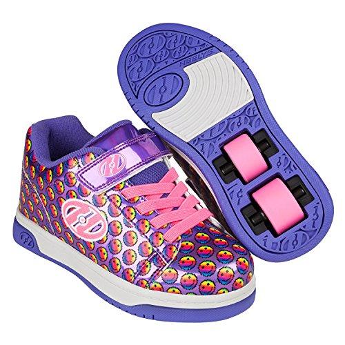 Unisex Scarpe Arcobaleno Sorriso Bambini 000 viola Heelys Multicolore X2 Fitness AqanxCw6