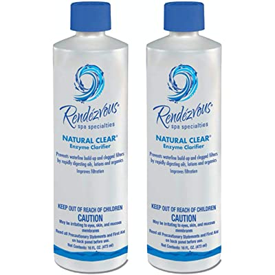 Rendezvous 106704A-02 Natural Clear Spa Enzyme, 2-Pack : Garden & Outdoor