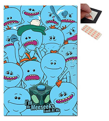 Rick And Morty Mr Meeseeks Poster - 91.5 x 61cms