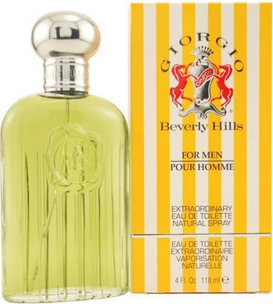 Giorgio by Giorgio Beverly Hills for Men, Eau De Toilette Spray, 4-Ounce