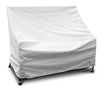Koverroos Weathermax 14204 5 Feet Benchglider Cover 75 Inch Width By 28 Inch Diameter By 37 Inch Height White