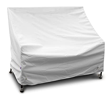 KoverRoos Weathermax 12450 3-Seat Glider/Lounge Cover, 78-Inch Width by 38-Inch Diameter by 30-Inch Height, White