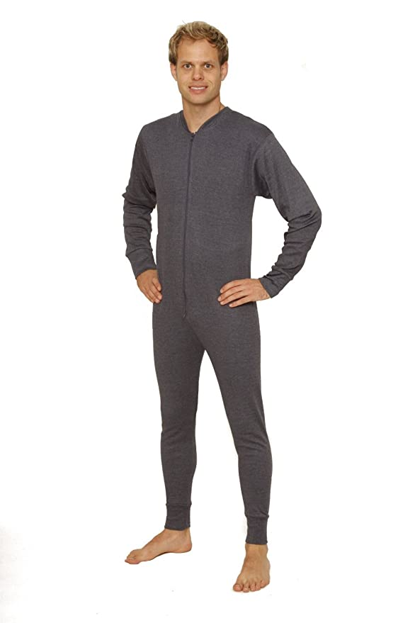 Octave Mens Thermal Underwear All In One Union Suit / Thermal Body ...