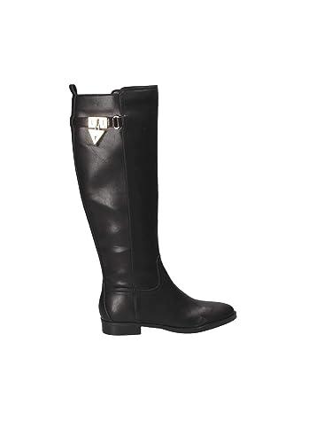 Black Donna co Fldgt4lea11 Main Boots Footwear Guess Amazon BqxwP