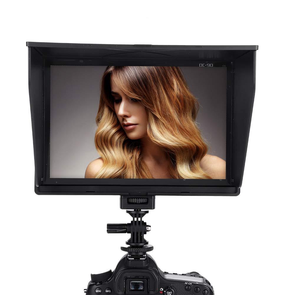 4K Camera Field Monitor 8.9 IPS Screen 1920x1200 LCD On-camera Video Monitor Display Support HDMI AV Input for DSLR Cameras