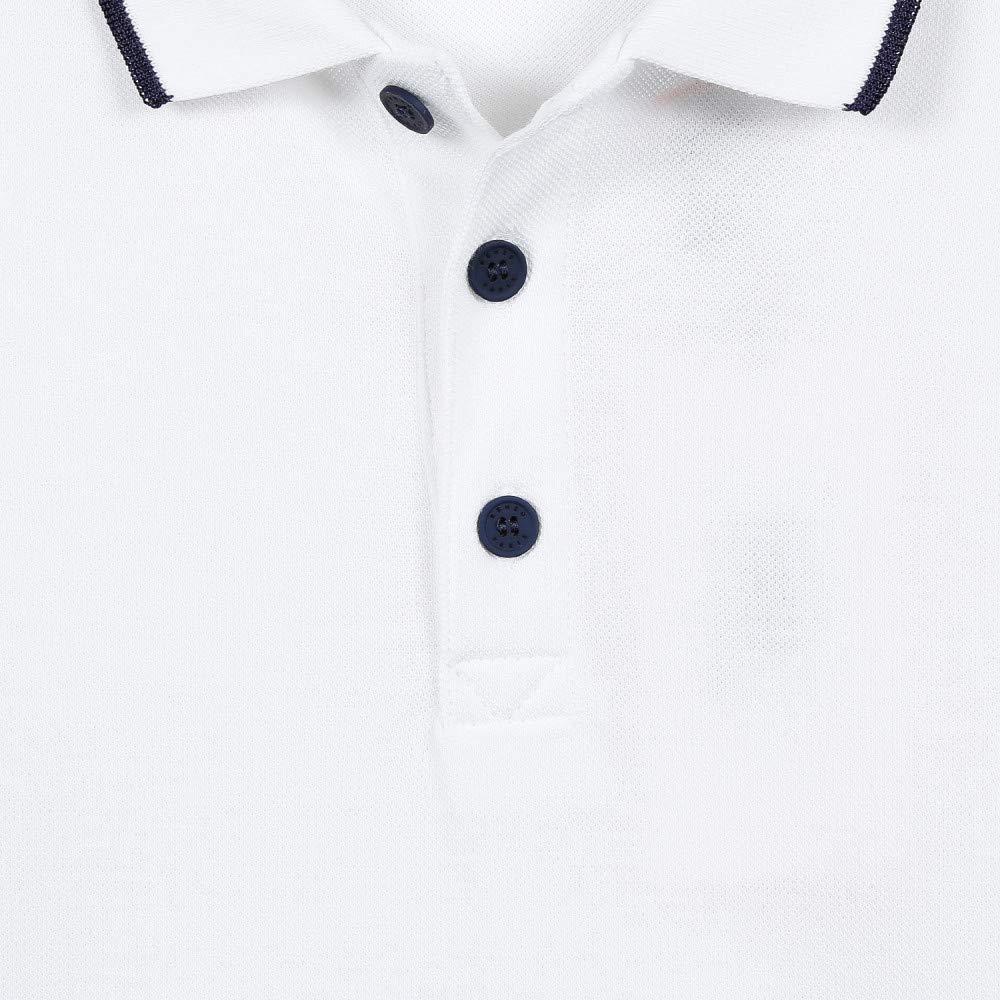 Kenzo Kids White Logo Polo Shirt