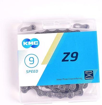 KMC 2019 Z9 Cha/îne de v/élo 1//2 x 11//128 9 vitesses 116 maillons