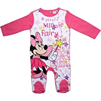 Minnie Mouse Strampelanzug Strampler Disney Lang Mädchen