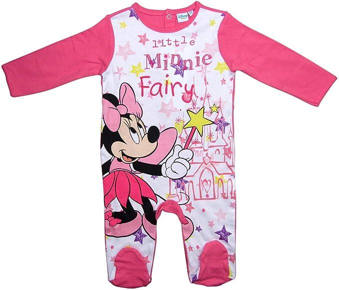 Minnie Mouse - Pantalón de Peto - para bebé niño Darkrosa 68 cm