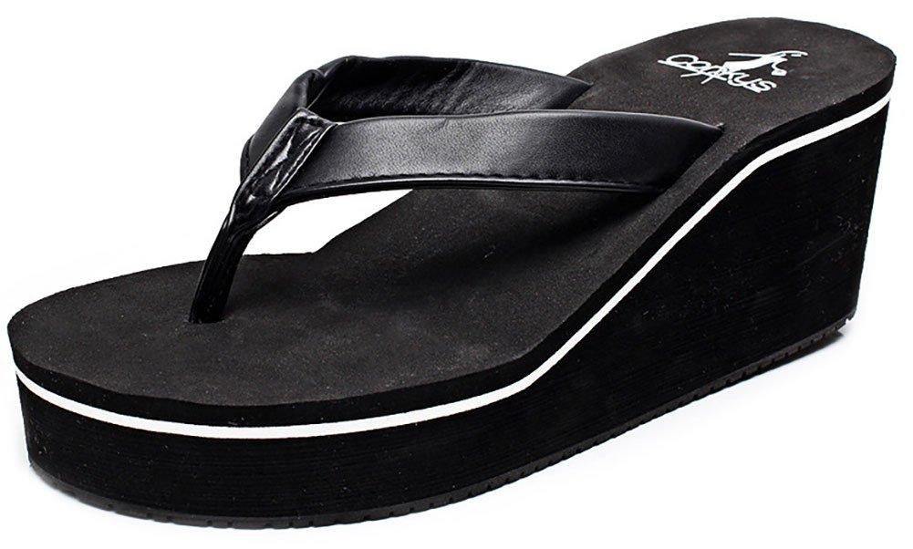 Women's Summer Fashion Creative High Heel Flip Flops US 6-6.5