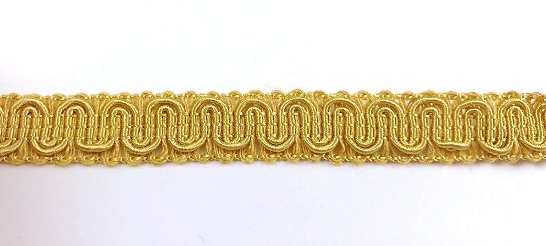 Trimplace Antique Gold 5/8 inch Gimp Trim (36 Yards)