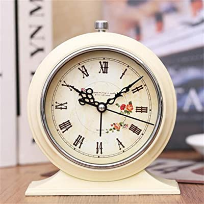 GZH-XL Bracket Clock Bedside Alarm Clock Creative Mute Students Small Alarm Clock Luminous Electronic