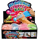12 Pack Hi-Bounce Pull and Stretch Ball